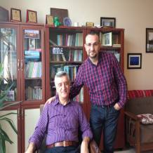 Bölümümüzün Kurucusu Prof. Sami Şener hocam'la